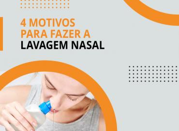 4 motivos para fazer a lavagem nasal