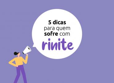 Veja 5 dicas para quem sofre com Rinite